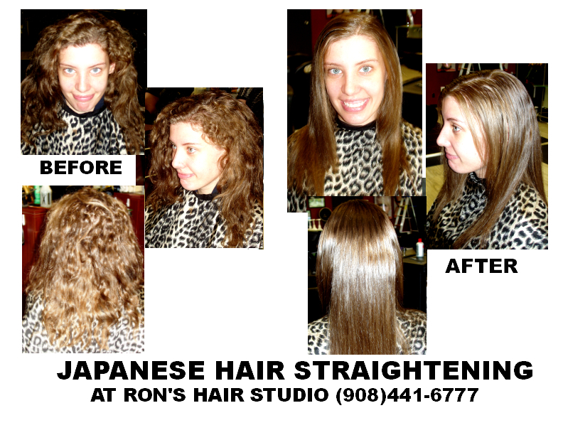 A Client Came In For Chi Japanese Straightening And The